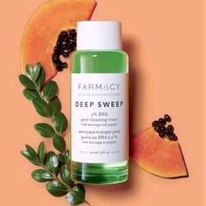 New! Farmacy Deep Sweep Pore Cleaning Toner 4fl Oz